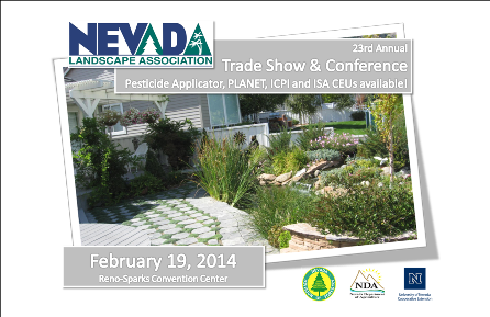 Nevada landscape association trade show and conference 2014